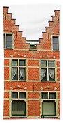 Bruges Window 9 Beach Towel