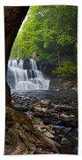 Brush Creek Falls II Beach Towel