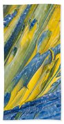 Brush Stroke Detail 8066 Beach Towel