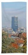 Brussels View Beach Towel