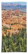 Bryce Canyon Fairyland Vista Point Beach Towel