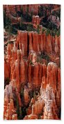 Bryce Canyon In Utah Beach Towel