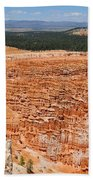 Bryce Canyon Inspiration Point Beach Towel