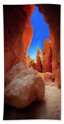 Bryce Canyon Narrows Beach Towel
