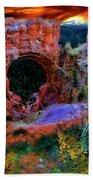 Bryce Canyon Natural Bridge Beach Towel