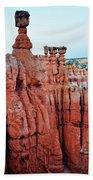 Bryce Canyon Thors Hammer Portrait Beach Towel