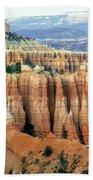 Bryce Canyon Vertical Hoodoos Beach Towel