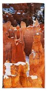 Bryce Canyon Winter 1 Beach Towel