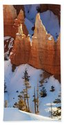 Bryce Canyon Winter 3 Beach Towel