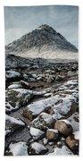 Buachaillie Etive Mor, Glencoe, Scotland Beach Towel