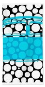 Bubble Car Vw Beetle Beach Towel