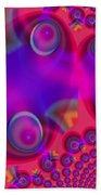 Bubble Trails Beach Towel