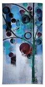 Bubble Tree - 055058167-86a7b2 Beach Towel