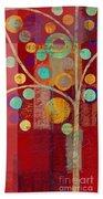 Bubble Tree - 85lc13-j678888 Beach Towel