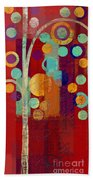 Bubble Tree - 85rc13-j678888 Beach Towel