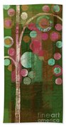 Bubble Tree - 85rc16-j678888 Beach Towel