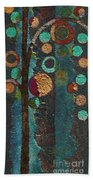 Bubble Tree - Spc02bt05 - Right Beach Towel by Variance Collections