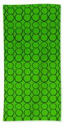 Bubbles All Over The Place -5-grn Beach Towel