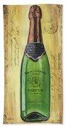 Bubbly Champagne 2 Beach Sheet