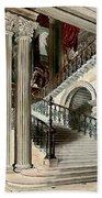 Buckingham House Stair Case Beach Sheet