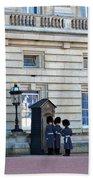 Buckingham Palace Guards Beach Sheet