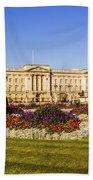 Buckingham Palace, London, Uk. Beach Towel
