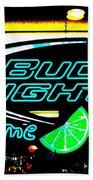 Bud Light Lime Tweeked Beach Towel