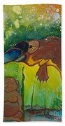 Buddha And The Divine Platypus No. 1375 Beach Towel