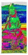 Buddha Dreaming Beach Towel