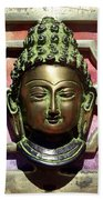 Buddha - Heavy Metal Beach Towel