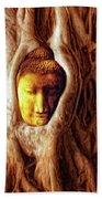 Buddha Of The Banyan Tree Beach Towel