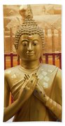 Buddha Statue Beach Towel