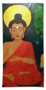 Budha Blessing Beach Towel
