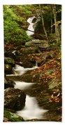 Buff Creek Falls Beach Towel