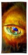 Buffalo Eye Beach Towel