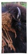 Buffalo Head Beach Towel