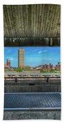 Buffalo New York Window Beach Towel