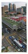 Bugis Village Junction In Singapore Entertainment District Beach Towel