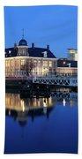 Building Of The Royal Dutch Mint In Utrecht 19 Beach Towel