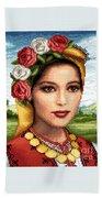 Bulgarian Beauty Beach Sheet