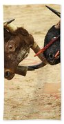 Bull Fight Beach Towel
