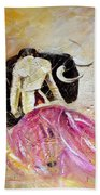 Bullfight 74 Beach Towel