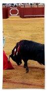 Bullfighting 21 Beach Towel