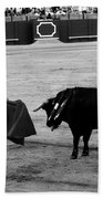 Bullfighting 22b Beach Towel