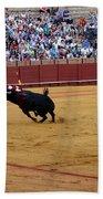 Bullfighting 35 Beach Towel