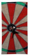 Bulls Eye Beach Towel