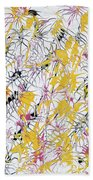 Bumble Bees Against The Windshield - Original Beach Towel