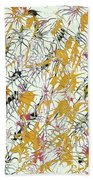 Bumble Bees Against The Windshield - V1sd92 Beach Towel