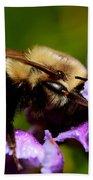 Bumblebee Beach Towel