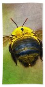 Bumblebees Flight Beach Towel
